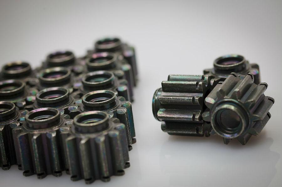 金屬表面處理–軍綠镀鋅產品圖