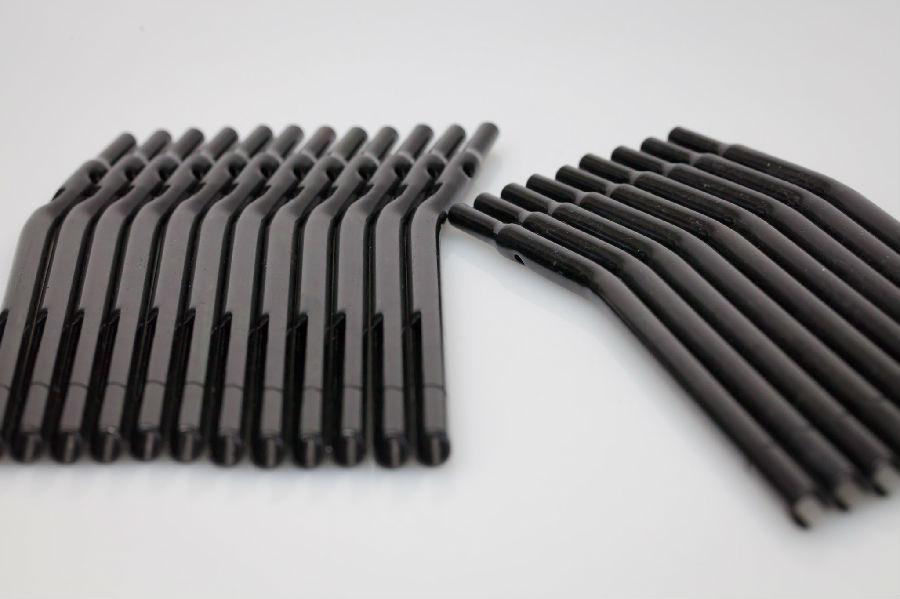 金屬表面處理–三價黑镀鋅顏色產品圖